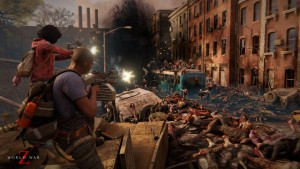 Launch trailert kapott a World War Z